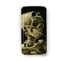 Vincent Van Gogh smoking skeleton Samsung Galaxy Case/Skin