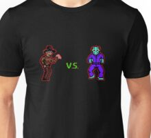 Freddy vs. Jason 8-Bit Unisex T-Shirt