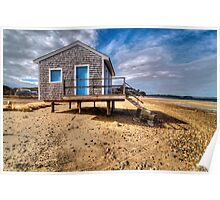 Cotchpinicut Boathouse HDR Poster