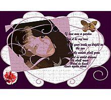 Violet Dreams Photographic Print