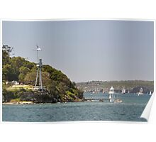 HMAS Sydney Monument & Tall Ships Departure 2013 Poster
