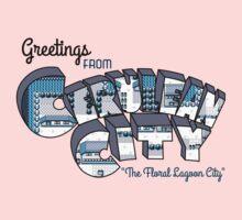 Greetings from Cerulean City Kids Tee