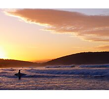 Looking for the perfect wave Photographic Print