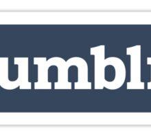 TUMBLR. Sticker