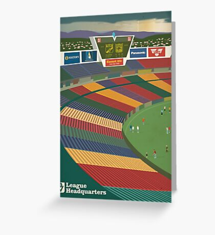 VFL Park - League Headquarters Greeting Card
