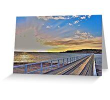 Granite Causeway +HDR Greeting Card