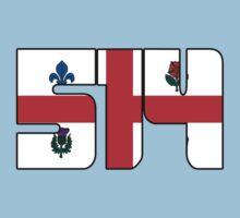 514 - Montreal Flag Kids Tee
