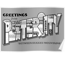 Greetings from Pewter City Poster