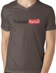 Procrastination Mens V-Neck T-Shirt