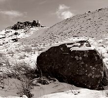 The Wainstones in Winter (Selenium Duotone) by PaulBradley