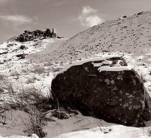 The Wainstones in Winter (Selenium Duotone) by PaulBradley