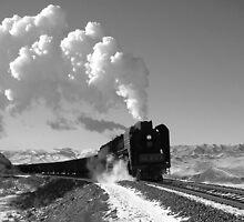 Frieght train by Paul Holland