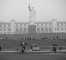 Chengdu big Mao by Paul Holland