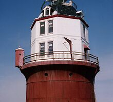 """Point No Point Lighthouse"" Chesapeake Bay, Maryland 1997 by jwhimages"