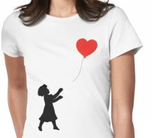 FOLLOW YOUR HEART ♥ Womens Fitted T-Shirt