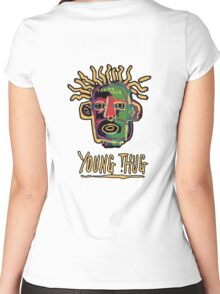 Young Thug - Old English Women's Fitted Scoop T-Shirt
