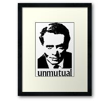 Unmutual Framed Print