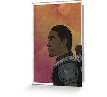 Falcon - Portrait Greeting Card