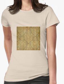 grunge,antique,vintage,damask,gold,elegant,chic,victorian,trendy,rustic,template,customizable T-Shirt
