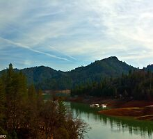 Beautiful Lake Shasta View by XanthicAmber