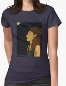 A Simple Reflection  Womens Fitted T-Shirt
