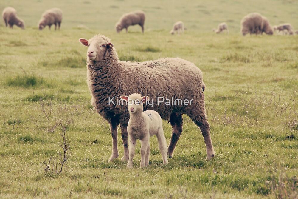 Mama and Lamb by Kimberly Palmer