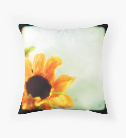 Sunflower II TTV  Throw Pillow