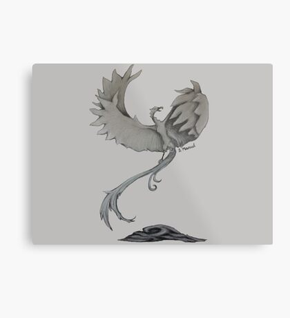Phoenix - Rising From The Ashes Metal Print
