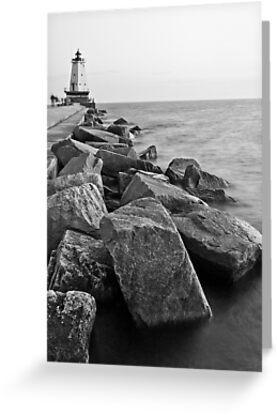 Ludington Lighthouse by Joe Thill