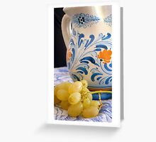 Italian Still Life Greeting Card