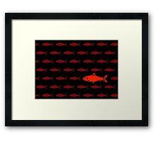 Red Herring Framed Print