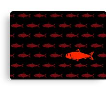 Red Herring Canvas Print