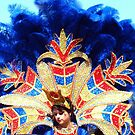 Feathered Mardi Gras Costume by Wanda Raines