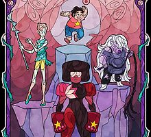 The Crystal Gems by talianora