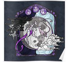 Mew & Mewtwo Poster