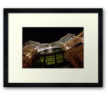 The Forum Shops at Night Framed Print