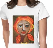 Saudades Womens Fitted T-Shirt