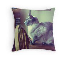 Bird Watcher Extraordinaire Throw Pillow