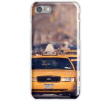 5th Avenue Cabs iPhone Case/Skin
