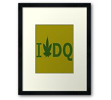I Love DQ Framed Print