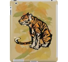 Tiger Ink iPad Case/Skin