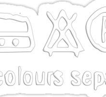 washing symbols Sticker