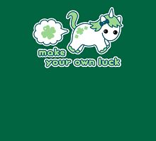 Luck Farting Unicorn Womens Fitted T-Shirt