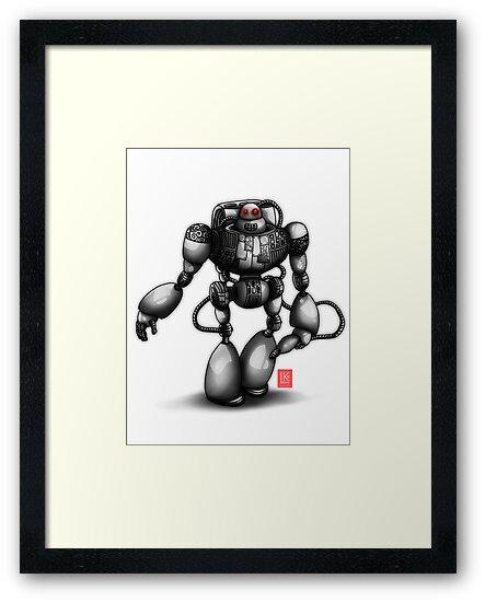 Robot by Lydia Kurnia