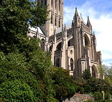 """Washington National Cathedral""  Washington DC 2009 by jwhimages"