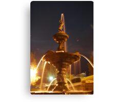 Bendigo fountain at Rosiland Park.  Canvas Print