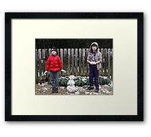 Frosties !!!!! Framed Print