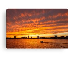 In Sunset's Wake Canvas Print