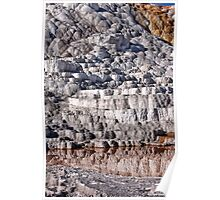 Mammoth Hot Springs 3 Poster