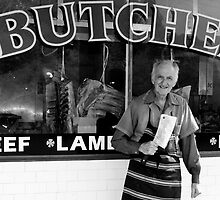 Ted the Butcher, Como by Jackie Hewett